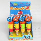 Pesci del pagliaccio del giocattolo con il suono e la caramella (131126)