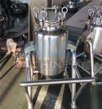 Sanitarios móviles Tanque de procesamiento por lotes de alta velocidad