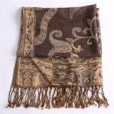 Новая шаль 100% Pashmina зимы полиэфира шарфа типа