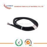 Cavo di termocoppia nero JX 2*1.0mm con l'isolamento del PVC