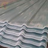 Resistentes ao calor em compositos reforçados de fibras de vidro transparente folha de metal de PRFV/Painel