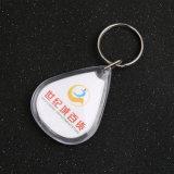 ID de clé en plastique Nom d'étiquette de balises de la carte des trousseaux trousseaux
