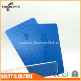 Beste Qualitätsplastikkratzer-Karte für Geschäft mit kundenspezifischer Form und Firmenzeichen