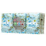 Equipamento automático de embalagem de papel de tecido de bolso Mini Handkerchief
