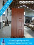 Piel de la puerta de la melamina HDF para el interior