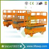 3m 4m hydraulisches halb elektrisches mobiles Höhenruder-hydraulischer Arbeits-Tisch