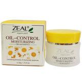 Crema d'idratazione di trattamento di zelo di controllo facciale dell'olio