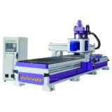鋭い単位が付いているローディングおよびUnloadiing CNCのルーターのネスティング解決および木工業の訓練、製粉する切断のための自動ツールマガジン