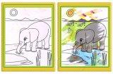 Les enfants de la magie de l'eau de bonne qualité chiffon de Dessin Peinture livre