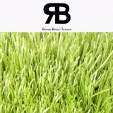 フットボールのサッカー競技場の美化のための40-50mmの景色のカーペットの人工的な泥炭の総合的な草