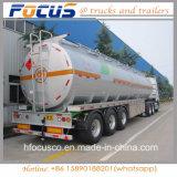 De Tare de peso da liga de alumínio do tanque reboque leve Semi para a gasolina/gasolina