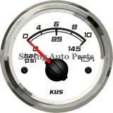 "Waterproof quadrato 2 "" Mechanical Oil Pressure Gauge 0-10bar con Backlight"