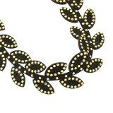 Halsband van Boho van de Nauwsluitende halsketting van de Kabel van de Nauwsluitende halsketting van het fluweel de Gotische Zwarte