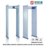 7 pulgadas de pantalla táctil anti interferencia de seguridad exterior del detector de metales a prueba de agua