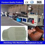 Het Tapijt van de Voet van de Auto van pvc en Extruder van de Schroef van China van de Mat de Enige