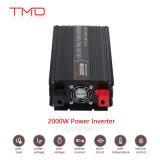 C.C. de 12V 24V 48V a la CA 110V 220V de la C.C. de la red 2000W al inversor 24V 120V de la corriente continua