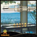 Speisetisch-Metallglas, das hängende Lampe (KAP6074, hängt)
