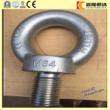 Tornillos de ojo de elevación galvanizados del acero DIN580 M64