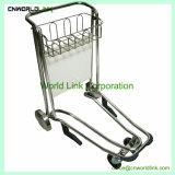 ブレーキのない空港のための4つの車輪空港旅行者の手荷物のトロリーカート