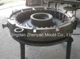 6.50-10 Molde de acero del neumático sólido de dos piezas