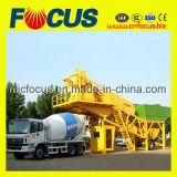 75cbm/H Planta de lote de Concreto Portátil, Yhzs75 Fábrica de criação de lote de concreto celular