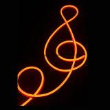 Luz de corda de néon ultra fino dupla face