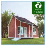 木25年長い生命保証およびプラスチック合成物WPCのプレハブの家