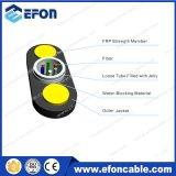 Tout le câble uni-mode 6 de fibre optique Non-Blindée extérieure diélectrique du faisceau G652D