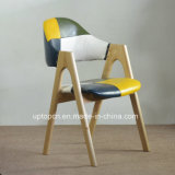 Solid famoso Wood Leather per Hotel Hans Chair (SP-EC604)