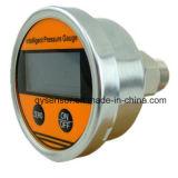 Tester a pile 0~60MPa di pressione di Digitahi della cassa del metallo