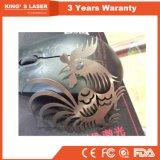 Machine de découpage chaude d'acier inoxydable de laser de fibre en métal de vente