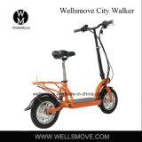 シートが付いている携帯用電気モーターを備えられたスクーターに乗る新しいデザイン都市都市