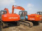 Excavador usado maquinaria usado de Japón Hitachi Ex200