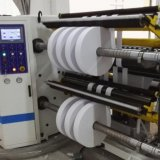 Aufschlitzende Hochgeschwindigkeitsmaschine für BOPP Haustier CPP Belüftung-PET Film-Papier und Kennsatz