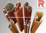 Profils en aluminium/en aluminium d'extrusion pour des séries de porte de cabinet