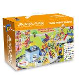 Оптовая торговля DIY 258 ПК железнодорожной платформы установите магнитный образовательных игрушек для детей