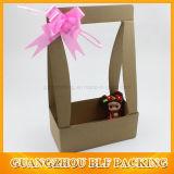 段ボール紙のハンドルの花のギフト用の箱