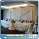 Standard- und justierbares Rohr und drapiert für Ereignis-Hochzeit