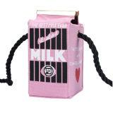Nette Karikatur-beiläufige reizende Segeltuch-Dame Shoulder Milk Bag
