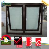 Auvent fenêtre en plastique PVC avec double vitrage
