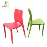 Bistros modernos de la reproducción que empilan la silla al aire libre del plástico de los PP