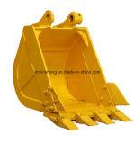 A máquina escavadora padrão Buckets a capacidade resistente 0.9m3 da cubeta