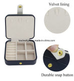 Коробка портативного устроителя коробки ювелирных изделий перемещения упаковывая с зеркалом