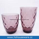 다이아몬드 디자인에 의하여 착색되는 유리제 공이치기용수철, 유리제 컵