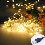 Großhandels-LEDusb-kupfernes Zeichenkette-Licht fasten Anlieferung