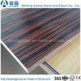 O papel novo da melamina do projeto enfrentou a madeira compensada para a mobília interna