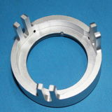 Части CNC высокой точности поворачивая алюминиевые для электронного блока