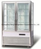 Réfrigérateur Wzs-6r d'étalage de gâteau de côtés de la verticale 4