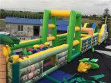 2016 heißes Sale Giant Inflatable Forest Obstacle Games für Kids
