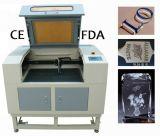 Máquina de madera acrílico 60W grabado láser con CE FDA